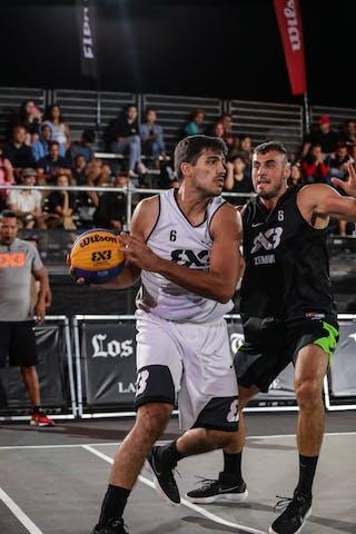 6 Nikola Vukovic (SRB) - 6 André Ferros (BRA)