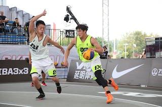 4 Dongyang Feng (CHN) - 5 Yanru Tao (CHN)