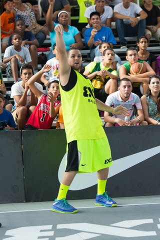 Samsung shoot out at the San Juan Masters 10-11 August 2013 FIBA 3x3 World Tour, San Juan, Puerto Rico. Day 2