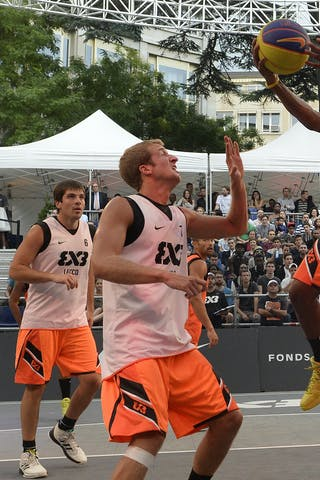 #5 Godfrey Phil, Team Marburg, FIBA 3x3 World Tour Lausanne 2014, Day 1, 29. August.