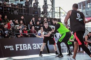 4 Stefan Stojačić (SRB) - 3 Michael Linklater (CAN) - 6 Nolan Brudehl (CAN)