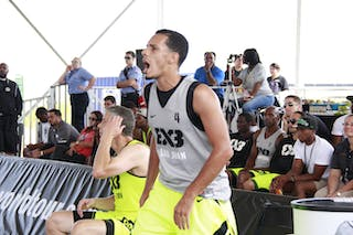 #4 Christian Rodriguez Santos, Team San Juan. 2014 World Tour Chicago. 3x3 Game. 16 August. Day 2.