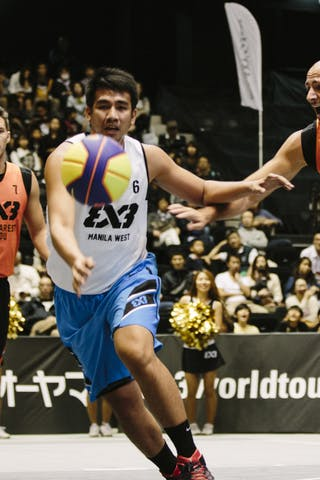 #6 Ramos John Aldrech, Team Manila West, FIBA 3x3 World Tour Final Tokyo 2014, 11-12 October.