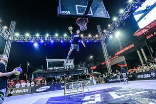 Entertainment, 2014 World Tour Beijing, 3x3game, 3. August day 2.
