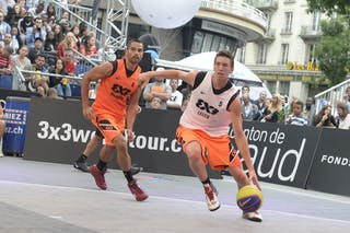 #5 Negri Andrea, Team Lecco, FIBA 3x3 World Tour Lausanne 2014, Day 1, 29. August.