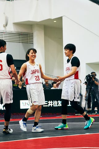 18 Sayako Ozaki (JPN) - 16 Todo Nanako (JPN) - 23 Mai Yamamoto (JPN) - Game6_Pool A_Japan U23 vs Romania