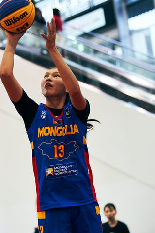 13 Khulan Onolbaatar (MGL) - Game4_Pool A_Romania vs Mongolia