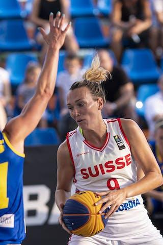 9 Marielle Giroud (SUI) - 21 Ruxandra-diana Chis (ROU)
