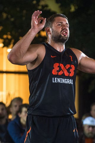 #7 Raimonds Elbakjans. Team Leningrad. 2014 World Tour Prague. 3x3 Game. 23 August. Day 1.