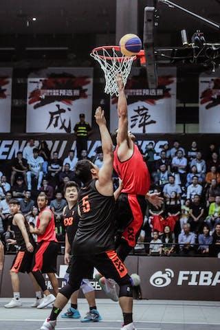 3 Michael Linklater (CAN) - 5 Shi Zhaoxu (CHN)