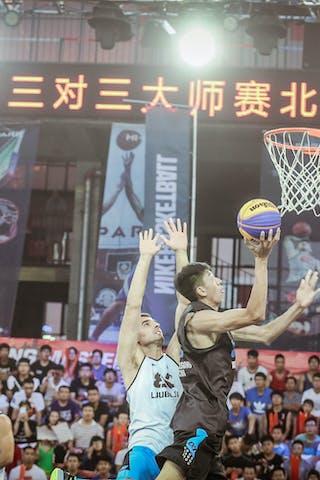 Ljubljana v Wukesong, 2015 WT Beijing, Semi final, 16 August 2015