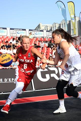 5 Marie-eve Paget (FRA) - 6 Martyna Cebulska (POL)