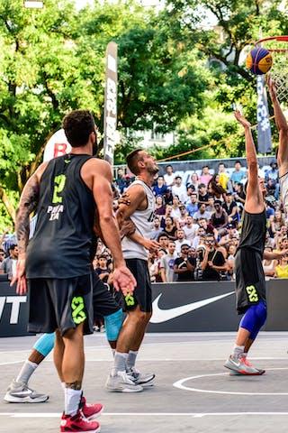6 Stefan Kojic (SRB) - 5 Damiano Verri (ITA) - 2 Gionata Zampolli (ITA) - Liman v Pavia, 2016 WT Lausanne, Last 8, 27 August 2016