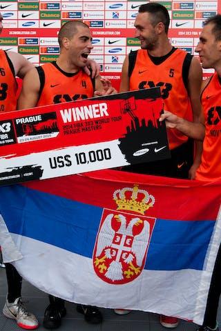 Team Novi Sad. 2014 World Tour Prague. 24 August. Day 2.