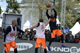 #4 Final Game Brezovica vs Novi Sad at the 2013 FIBA 3x3 World Tour final in Istanbul