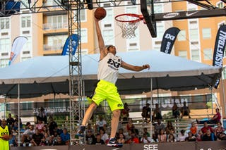 Dunk contest qualifications at the San Juan Masters 10-11 August 2013 FIBA 3x3 World Tour, San Juan, Puerto Rico