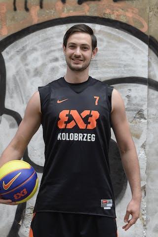 Szymon Janjewski. Team Kolobrzeg. 2014 World Tour Prague.