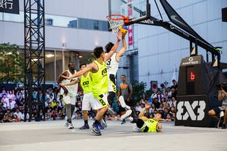 Okayama v Taichung, 2016 WT Utsunomiya, Pool, 30 July 2016