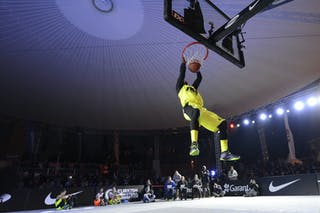Dunk contest 2013 FIBA 3x3 World Tour final in Istanbul