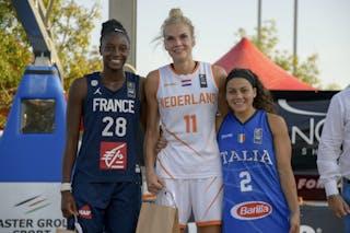 28 Migna Touré (FRA) - 11 Jill Bettonvil (NED)