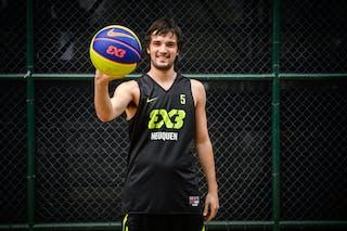 #5 Maestra Cristian, Team Neuquen, FIBA 3x3 World Tour Rio de Janeiro 2014, 27-28 September.