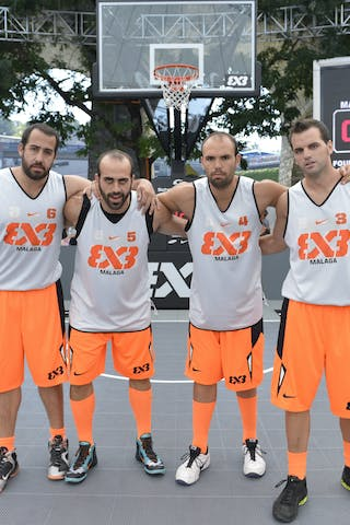 Malaga (Spain) 2013 FIBA 3x3 World Tour Masters in Lausanne
