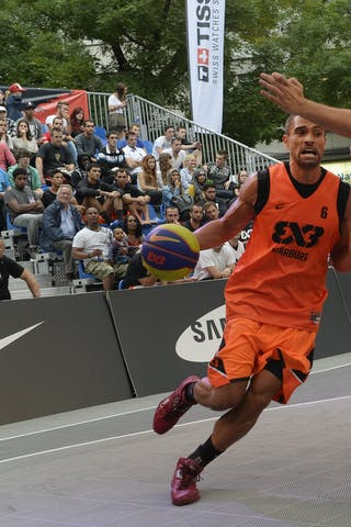 #6 Bohm Dave, Team Marburg, FIBA 3x3 World Tour Lausanne 2014, Day 1, 29. August.