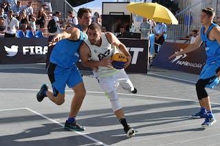 6 Dusan Domovic Bulut (UAE) - Novi Sad Al Wahda v Bordeaux, 2016 WT Debrecen, Pool, 7 September 2016