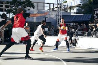 4 Marcel Esonwune (USA) - 7 Kidani Brutus (USA) - 5 Aurelijus Pukelis (LTU) - 3 šarūnas Vingelis (LTU)