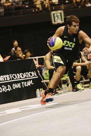 #5 Sarmento Marcellus, Team Santos, FIBA 3x3 World Tour Final Tokyo 2014, 11-12 October.