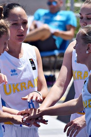 9 Olena Boiko (UKR) - 8 Krystyna Filevych (UKR) - 7 Nataliia Tsiubyk (UKR) - 5 Yevheniia Spitkovska (UKR)