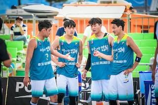 4 Junsoo Namkoong (KOR) - 3 Park Raehun (KOR) - 2 Kim Hun (KOR) - 1 Hee Hoon Kwak (KOR)