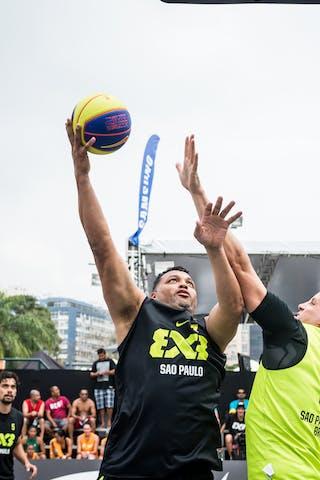 #5 Fabio Santos, Team Sao Paulo, FIBA 3x3 World Tour Rio de Janeiro 2014, Day 2, 28. September.