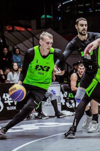 3 Bogdan Dragovic (SRB) - 5 Agnis čavars (LAT) - 4 Kārlis Lasmanis (LAT) - 3 Nauris Miezis (LAT)