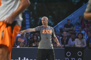 Eric Bertrand Referee 2013 FIBA 3x3 World Tour Masters in Lausanne