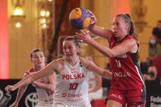 21 Svenja Brunckhorst (GER) - 10 Magdalena Maria Parysek-bochniak (POL)