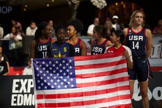 14 Bella Alarie (USA) - 12 Aleah Goodman (USA) - 11 Christyn Williams (USA) - 10 Michaela Onyenwere (USA)