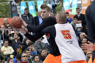 #5 Final Game Brezovica vs Novi Sad at the 2013 FIBA 3x3 World Tour final in Istanbul