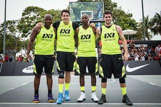 Team Sao Paulo DC, WT Rio de Janeiro, FIBA 3x3 World Tour Rio de Janeiro 2014, Day 2, 28. September.