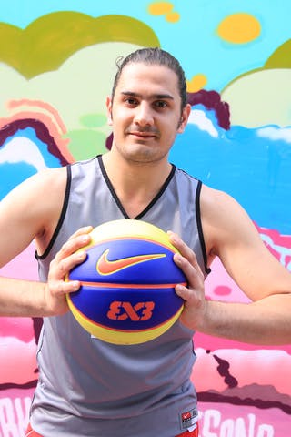 Arnaout Alaa El Din, Team Beirut, FIBA 3x3 World Tour Beijing 2014, 2-3 August.
