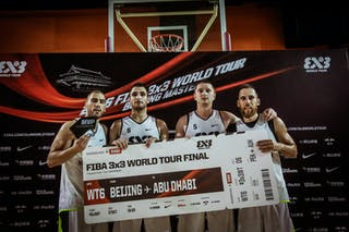 6 Marko Dugosija (UAE) - 3 Dusan Domovic Bulut (UAE) - 4 Marko Zdero (UAE) - 5 Marko Savić (UAE) - Novi Sad AlWahda v Gdansk, 2016 WT Beijing, Final, 17 September 2016