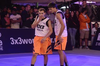 #4 Antar Moeman, Team Monastir, FIBA 3x3 World Tour Lausanne 2014, Day 1, 29. August.