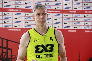 #4 Arne Duncan. Team Chi-Town. 2014 World Tour Chicago. 3x3 Game. 16 August. Day 2.
