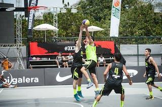 #5 Olivera Nicolas, Team Montevideo, FIBA 3x3 World Tour Rio de Janeiro 2014, Day 2, 28. September.