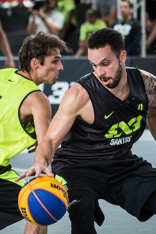 Rodrigo Diguinho DEL'ARCO (Team Rio Preto) vs Ismar DO VALE NETO (Team Santos)