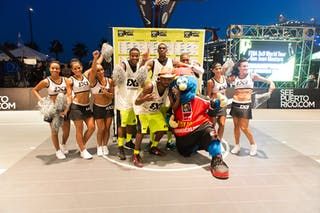 Winner at the San Juan Masters 10-11 August 2013 FIBA 3x3 World Tour, San Juan, Puerto Rico. Day 2