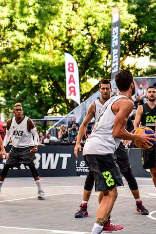 5 Damiano Verri (ITA) - 6 Claudio Negri (ITA) - 2 Gionata Zampolli (ITA) - 3 Filip Simic (SRB) - 4 марко Stojadinovic (SRB) - 6 Vladimir Bulatovic (SRB) - Pavia v Obrenovac, 2016 WT Lausanne, Pool, 26 August 2016