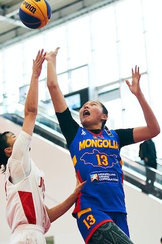 13 Khulan Onolbaatar (MGL) - Game2_Pool A_Japan U23 vs Mongolia