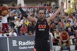#6 Ismael Reina. Team Malaga. 2014 World Tour Prague. 3x3 Game. 23 August. Day 1.