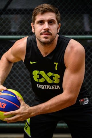 #7 Vieira Romulo, Team Fortaleza, FIBA 3x3 World Tour Rio de Janeiro 2014, 27-28 September.